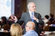 Autor wywiadu podczas seminarium usługowego na XIV Konferencji Lean Management w dniach 10-12 czerwca 2014 roku we Wrocławiu