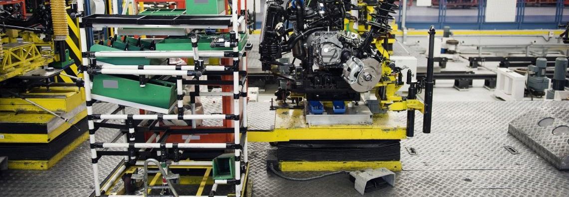 Logistyka wewnętrzna fabryki wg zasad Lean