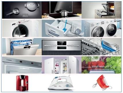 Portfolio produktów BSH
