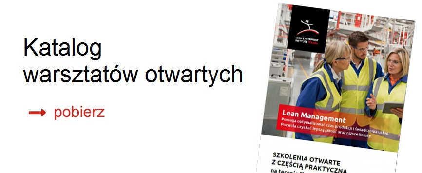 katalog warsztatów otwartych Lean Enterprise Institute Polska