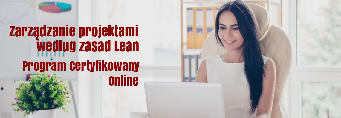 Zarządzanie projektami według zasad Lean – Program certyfikowany ONLINE